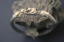 Viking Knit Bracelet with Moonstone (thumbnail)