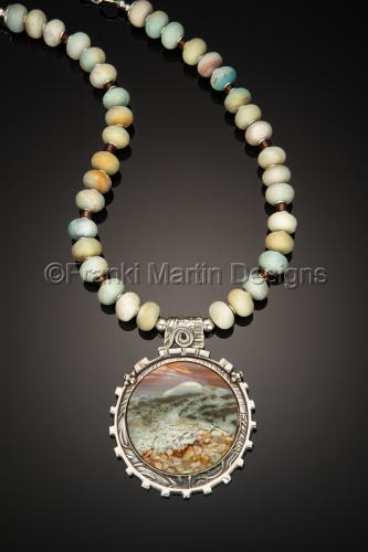 POLYCHROME JASPER  by Franki Martin Designs