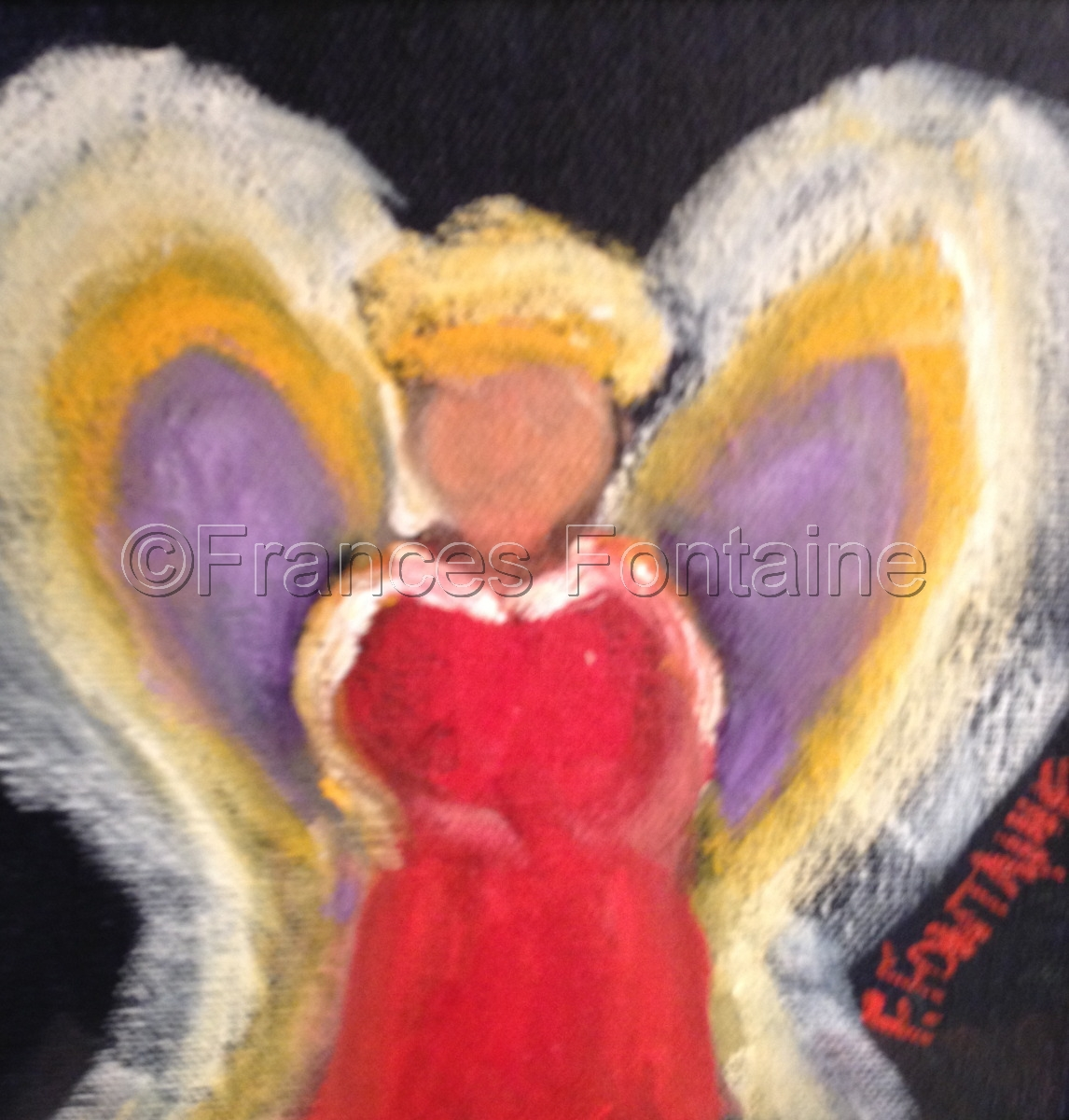 Frances Fontaine little angel (large view)