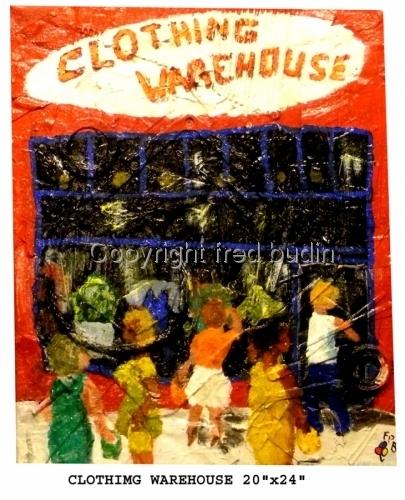clothing warehouse
