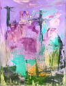 Cityscape with Purple Background (thumbnail)