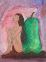 Girl with Pear (thumbnail)