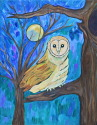 Owl in the Moonlight (thumbnail)