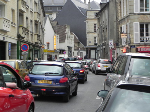 A French Traffic Jam
