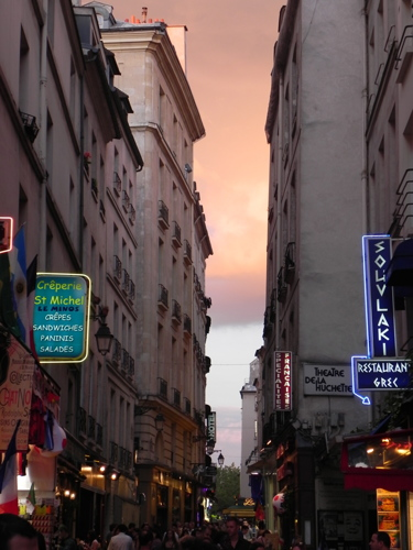Evening in Paris