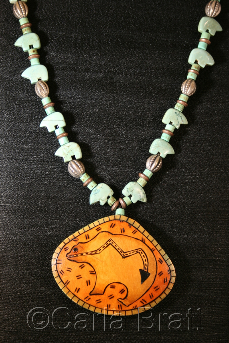 Bear Totem Necklace (large view)
