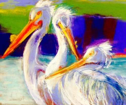 Courting Pelicans