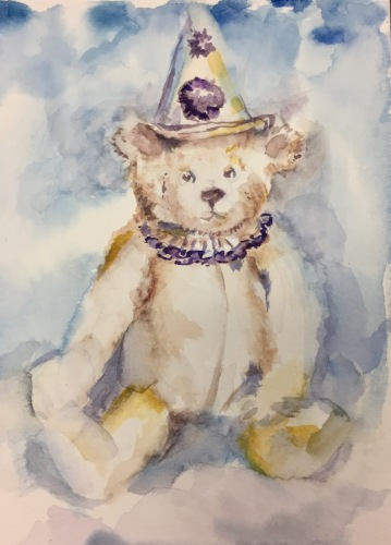 Teddy clown