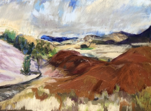 Painted Hills John Day Fossil Beds , Oregon