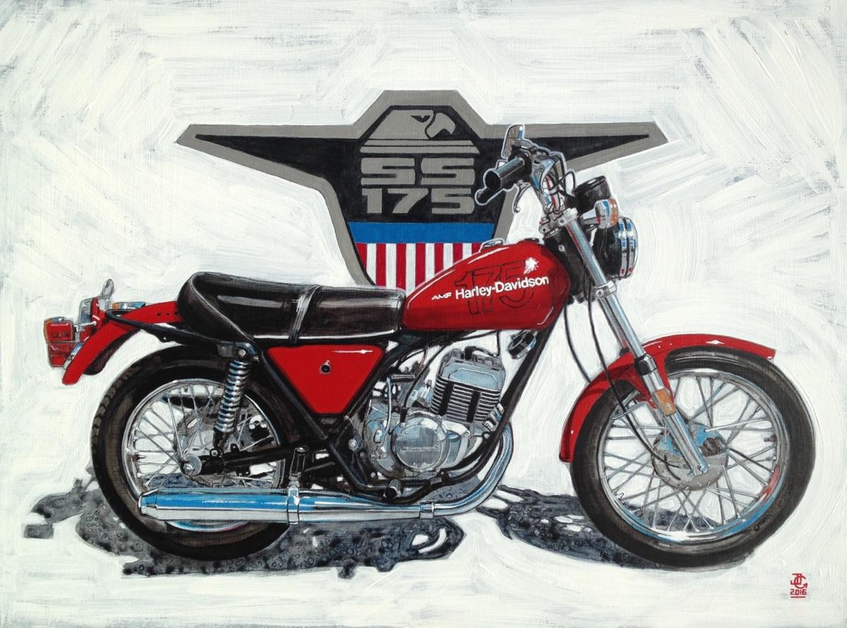 1978 Harley Davidson SS175 AMF Aermacchi - 2016 (large view)