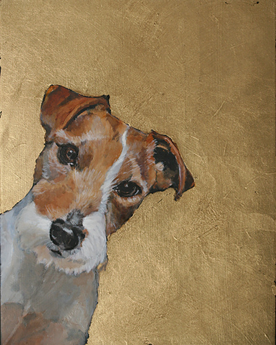 Jack Russell Terrier Original Oil Painting
