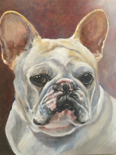 Louie Original Oil Painting
