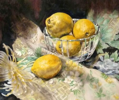 Sunny Citrus by Gail Faulkner