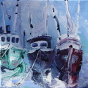 Three Boats in Fairhope (thumbnail)