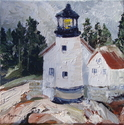 Lighthouse in Maine (thumbnail)