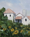 Caillebotte's Sunflowers in the Garden (thumbnail)