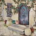 BLUE TUSCAN DOOR (thumbnail)