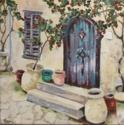 BLUE TUSCAN DOOR (thumbnail)