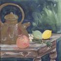 Painting--Acrylic-Still LifeTea Pot Still Life