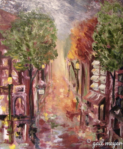 Painting--Acrylic-CityscapeSouth Camden