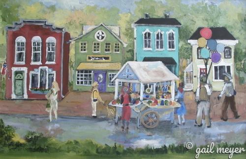 Painted Ladies (large view)
