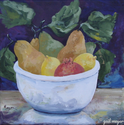 Tuscan Fruit Bowl (large view)
