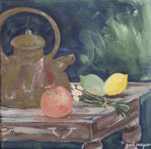 Tea Pot Still Life (large view)