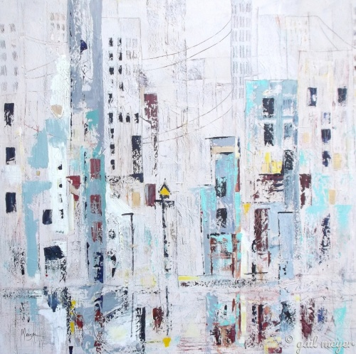 Urban Abstraction II by gail meyer