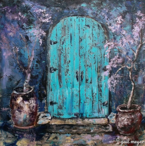 MIDNIGHT TUSCAN DOOR