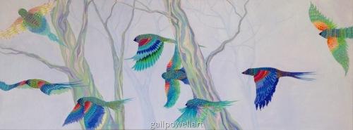 Blackbirds Dream of Spring