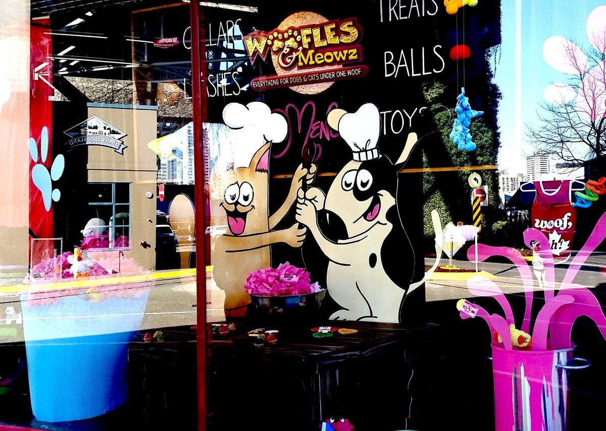 Granville Island Kid's Market-  Woofles & Meows (large view)