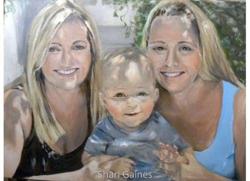 Ashley, Chrissy and Ty