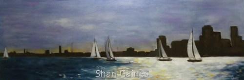 Sailing Lake Ontario