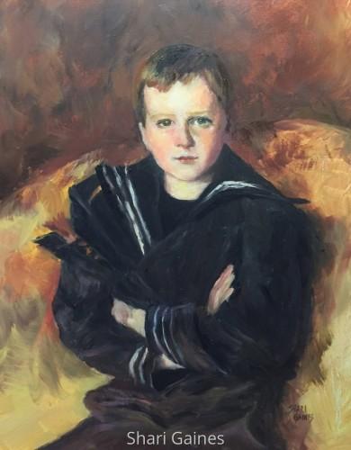 Shari's Sargent II: After John Singer Sargent