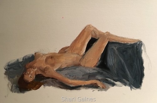 40 minute reclining pose