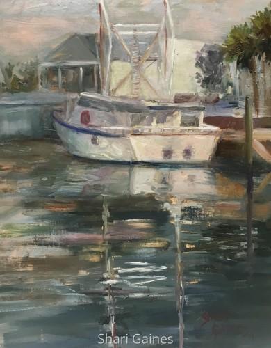 Quiet Morning on the Docks
