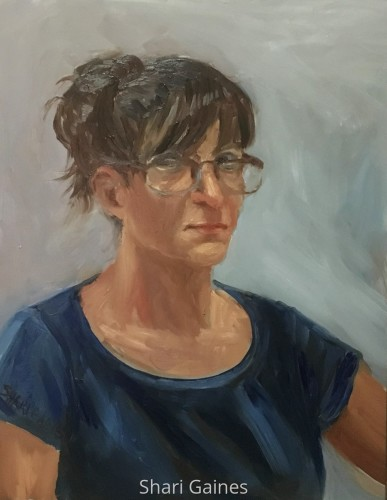 Self-portrait July 2016