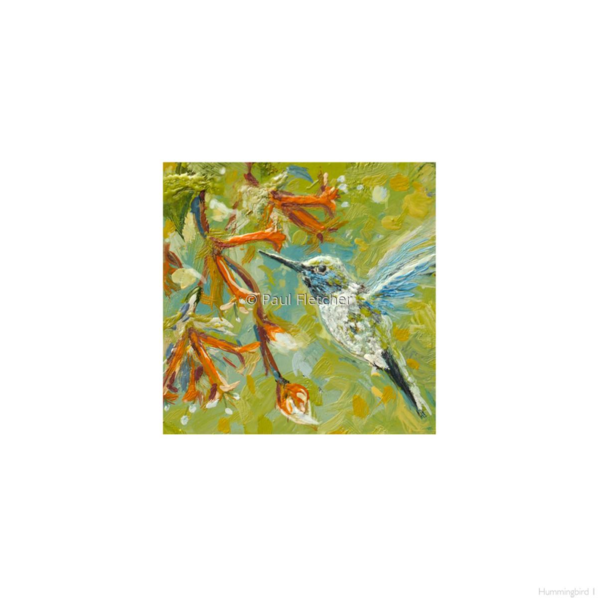 Hummingbird 1 ~ 5X5 (large view)