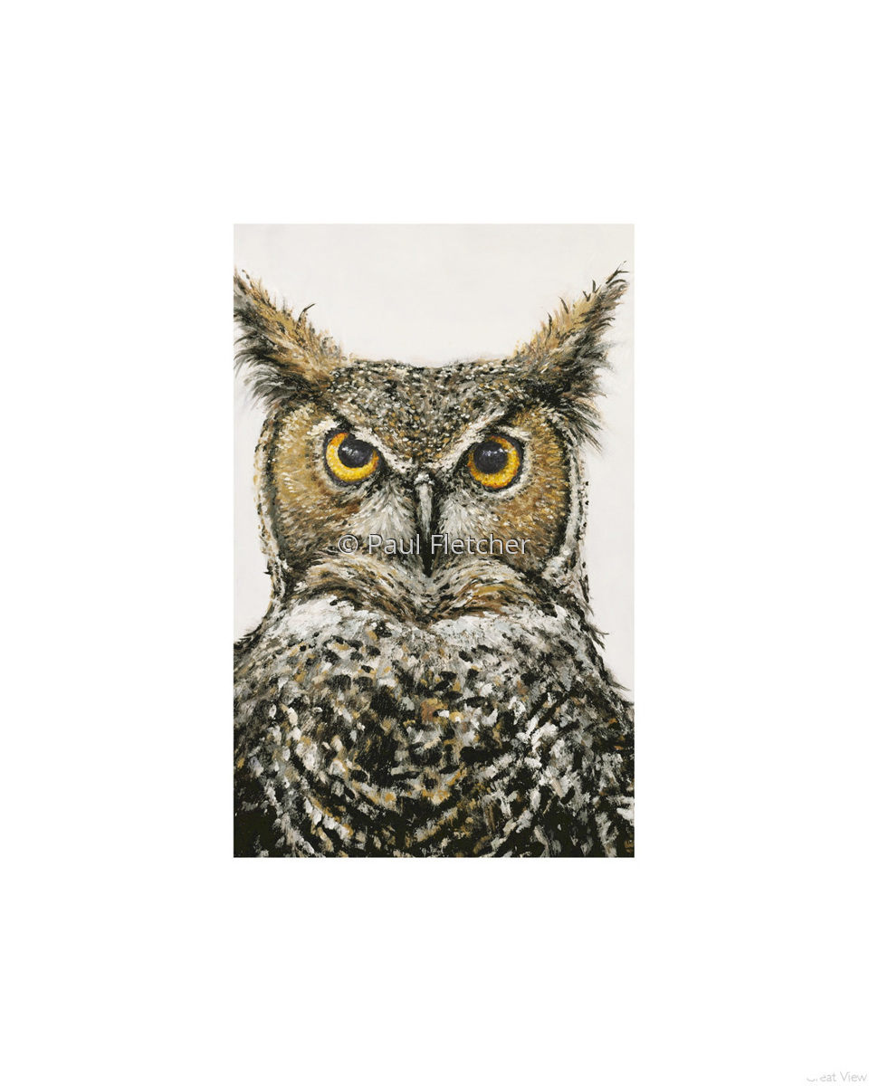 Great Horned Owl ~ 5X7 ~ 8X10 ~ 11X14 (large view)