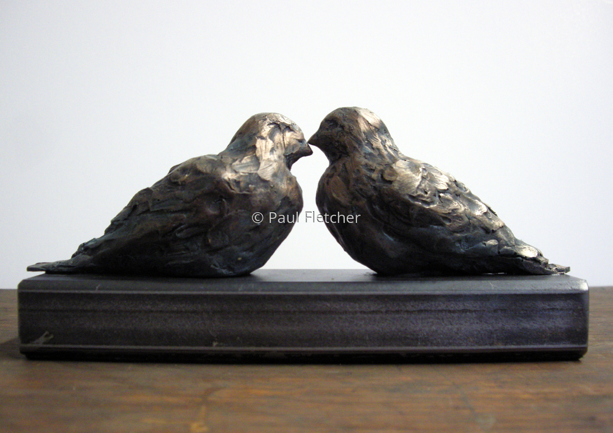 Nose Kisses ~ Birds (large view)