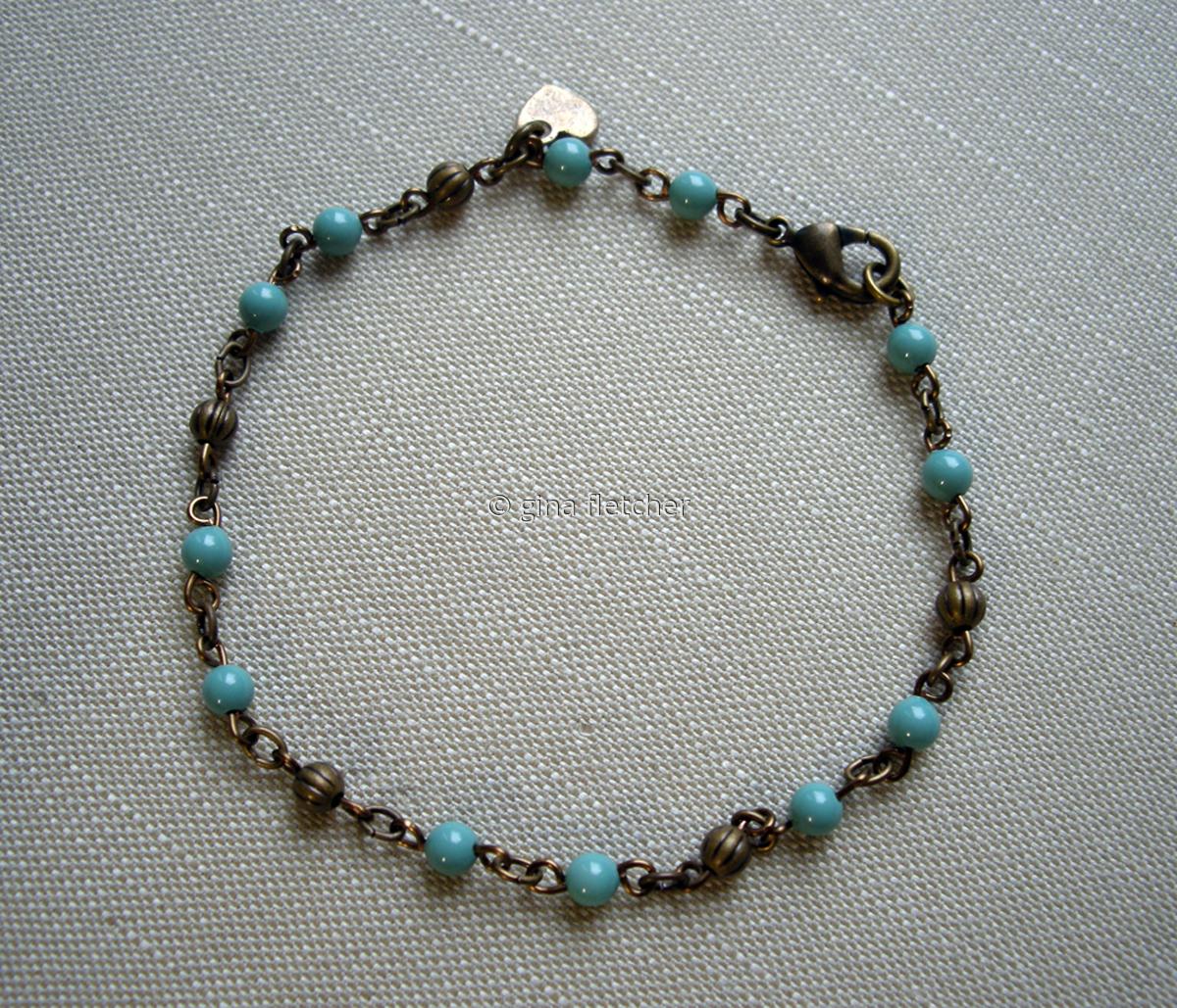 pearl bracelet . . .#011 (large view)
