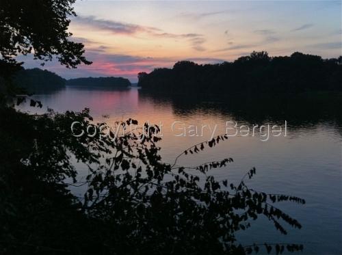 Dusk Potomac River