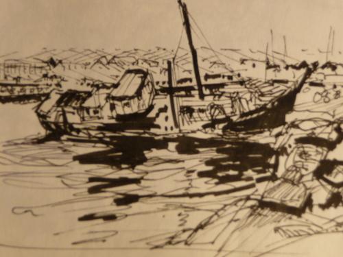Sunk in Dingle Harbor, Ireland