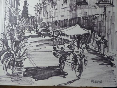 Camaguey street scene, Cuba
