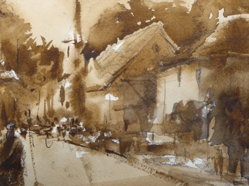 English Street Scene