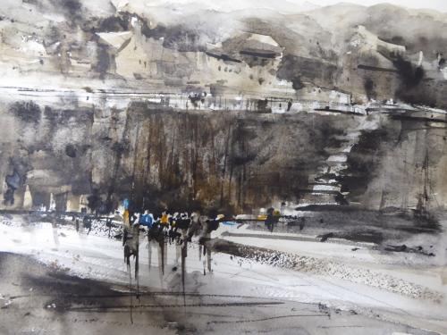 Bathers at Cornwall,