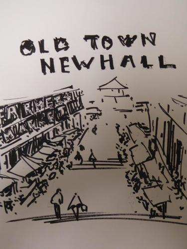 downshot of Newhall ave