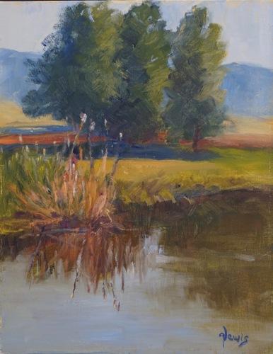 July Morning at Blue Lake