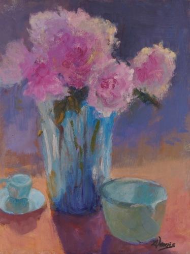Peonies by Gayle Lewis