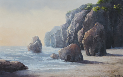 BETWEEN THE ROCKS, SOLD
